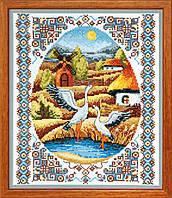 Набор для вышивки крестом На заливных лугах