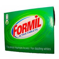 FORMIL Tabs Таблетки для стирки - Aktiv (Для белых вещей),  36 шт на 18 стирок
