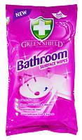 Green Shield салфетки для чистки ванны 50 шт
