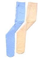 Колготки однотонные с орнаментом для девочки  Школьная форма