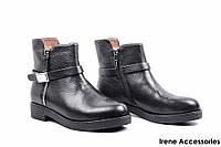 Ботинки женские кожаные Basconi (ботильоны комфортные, внутри кожа с 35р)
