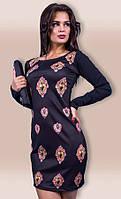 Платье женское сердечки