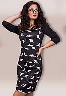 Платье женское акулы