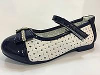 Детские нарядные туфли с брошкой для девочек ТОМ.М