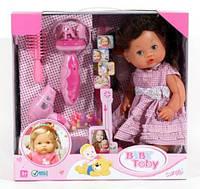Кукла с набором парикмахера 30701 B 1. Аксессуары, горшок, бутылочка, звук