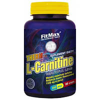 Жиросжигатель Therm L-Carnitin (600mg+60mg caffeine) FitMax 90 капс