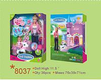 Кукла DEFA 8037. 3 вида, с дочкой, с пони, аксессуары