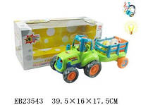 Детский трактор с прицепом и животными 777-2