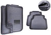 Универсальные коврики со съемным ворсовым элементом / комплект 5шт. / цвет: серый