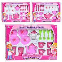 Детская посуда 3676 AC 3 вида (чайный сервиз)