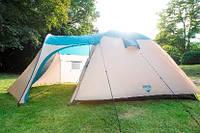 Палатка 5-ти местная двухслойная! 3000 mm H2O! Best Way 68015!