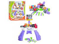 Детский игровой набор Кухня 8320 с посудой, продуктами, 32 дет
