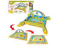 Развивающий коврик для младенца с бортиками Bambi M 1552