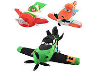 Мягкая игрушка Самолет MP 0010 PLANES, 3 вида на присоске