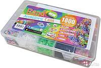 LOOM BANDS набор для плетения браслетов из разноцветных гелиевых резинок 1800 шт в коробке