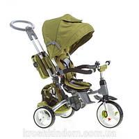 Детский трехколесный велосипед-коляска MODI T500 Оливковый 6 в 1