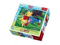 Детские пазлы 3D 35734  Trefl , Крутим обруч/Дисней Winnie the Pooh, 48 дет