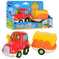 Игрушка для малышей Трактор с прицепом Vtech 152303