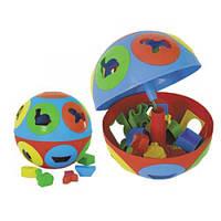 Детская игрушка-сортер Умный малыш  Колобок Технок