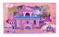 Домик для кукол 16398/2016 Crystal Princess Замок переносной 56 деталей