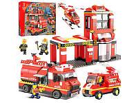 """Конструктор Sluban """"Пожарные спасатели"""" M38-B0226, 693 дет"""