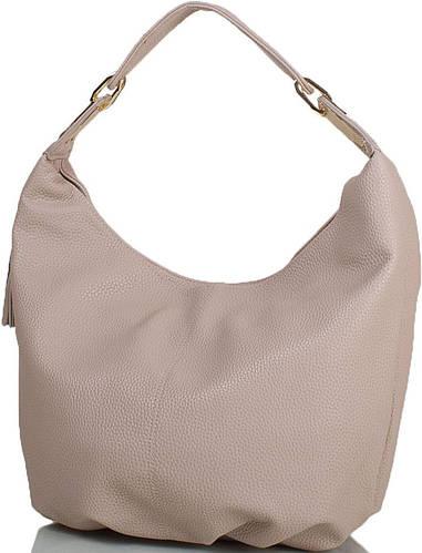 Бежевая женская сумка из искусственной кожи ANNA&LI (АННА И ЛИ) TU14497-khaki (бежевый)