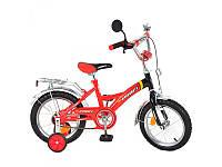 Велосипед PROFI P 1636 детский 16д., красно-черный