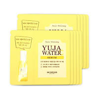 Осветляющая ампульная сыворотка для лица SkinFood Yuja Water C Whitening Ampoule In Serum (пробник)