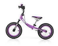 "Беговел (велобег) ""Milly Mally YOUNG"", 12 дюймов, фиолетовый"