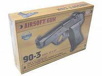 Пистолет железный на пульках Beretta, 90-3