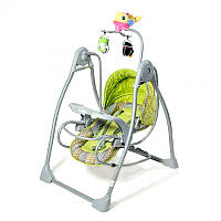 Детская колыбель-качели TILLY BT-SC-0003, зелёная