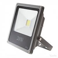 Светодиодный прожектор 20Вт, 1600Лм, 6500К холодный белый STANDART (slim) LEDEX