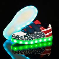 LED кроссовки для мальчиков и девочек