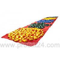 Коврик-дорожка массажный Ортопед с цветными камнями (200*40 см) детский развивающий
