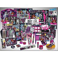 Школьный набор первоклассника для девочки Monster High 37 предметов