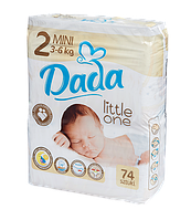 Подгузники Dada 2 (3-6кг) 78шт