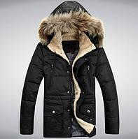 Куртка пуховая, пуховик мужской зимний