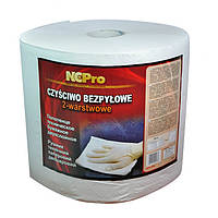 Бумажное техническое полотенце 2 слоя белый  NCP