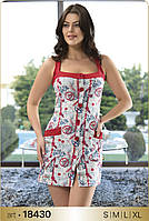 Домашнее платье-сарафан на пуговицах Angel's Story 18430