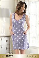 Домашнее платье в звездочках Angel's Story 18470