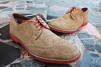 Мужские  туфли броги , замша Redtape, 31 см, 46 размер. Код: 262.