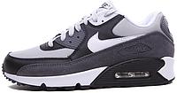 Мужские кроссовки Nike Air Max 90 (найк аир макс) серые