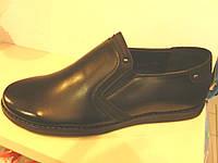 Туфли школьные подростковые размеры 36-41 стелька кожа