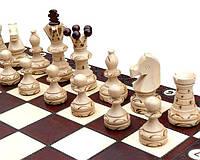Большие деревянные подарочные шахматы С128 Амбассадор