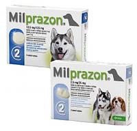 Таблетки от глистов для щенков и собак KRKA Милпразон