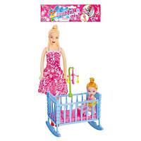 Кукла с ребенком и аксессуарами 339-2 (цвет может отличатся от фото)