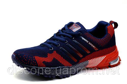 Кроссовки BaaS Adrenaline GTS, мужские, темно-синие с красным, р. 41 42 43 44 45