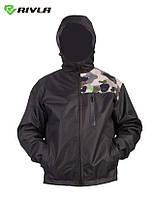 Куртка мужская мембранная Rivla S3 waterproof Black