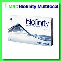 Biofinity Multifocal (3+1) или (2+2) 675 грн