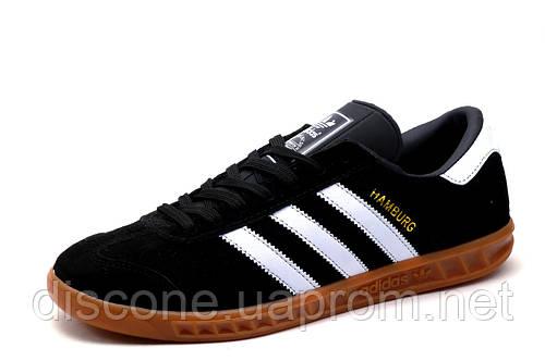 Кроссовки Adidas Hamburg, мужские, черные, р. 45